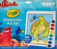 Wholesalers of Crayola Finding Dory Watercolour Art Set toys image