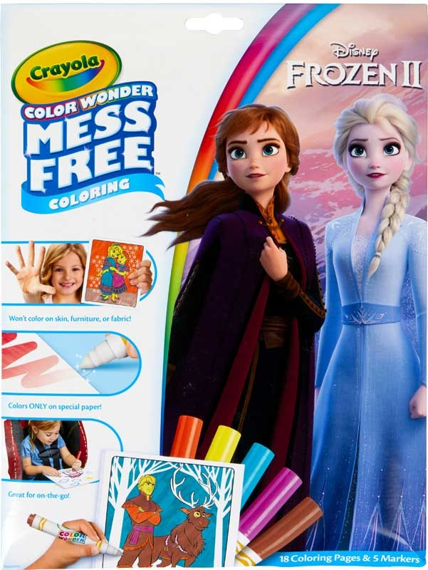 Wholesalers of Crayola Frozen 2 Color Wonder toys