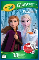 Wholesalers of Crayola Frozen 2 Giant Colouring Pages With Stickers toys image