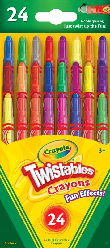 Wholesalers of Crayola Fun Effects Twistables Crayons toys