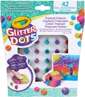 Wholesalers of Crayola Glitter Dots Asst toys image 2