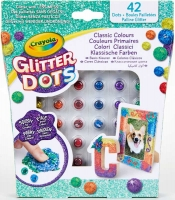 Wholesalers of Crayola Glitter Dots Asst toys image 3