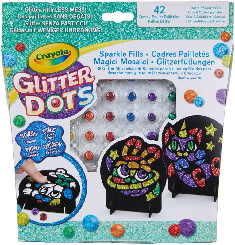 Wholesalers of Crayola Glitter Dots Sparkle Fills toys