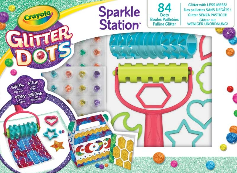 Wholesalers of Crayola Glitter Dots Sparkle Station toys