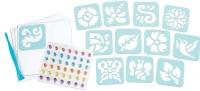 Wholesalers of Crayola Glitter Dots Sticker Stencils toys image 2