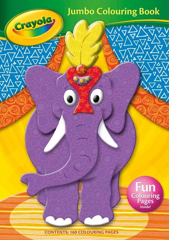 Wholesalers of Crayola Jumbo Colouring Book toys