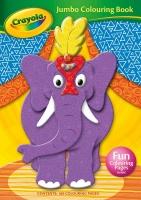 Wholesalers of Crayola Jumbo Colouring Book toys image