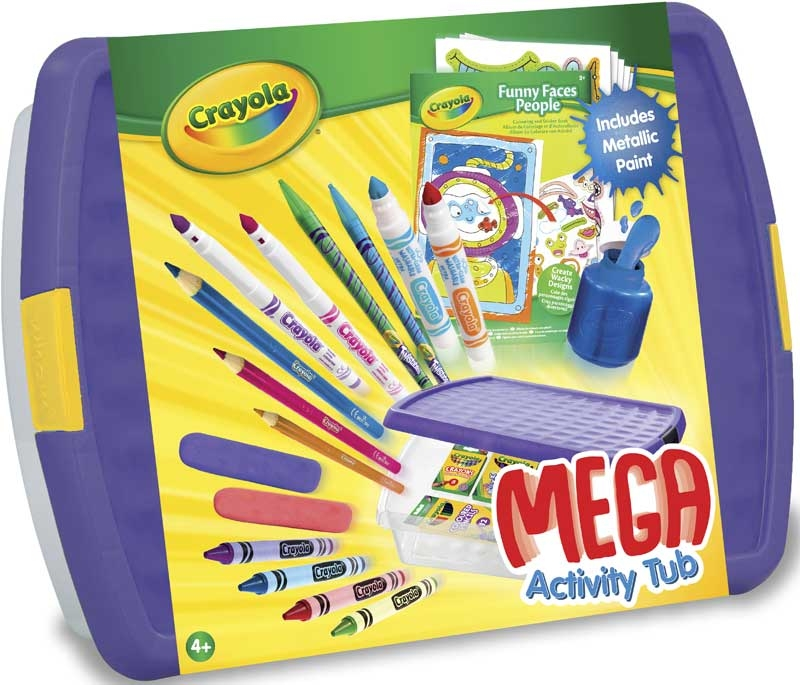 Wholesalers of Crayola Mega Activity Tub toys