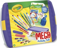 Wholesalers of Crayola Mega Activity Tub toys image