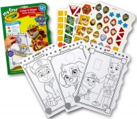 Wholesalers of Crayola Paw Patrol Colour And Shapes Activity Book toys image 2