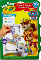 Wholesalers of Crayola Paw Patrol Colour And Shapes Activity Book toys image