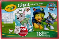 Wholesalers of Crayola Paw Patrol Giant Colouring Pages With Stickers toys image 2
