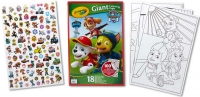 Wholesalers of Crayola Paw Patrol Giant Colouring Pages With Stickers toys image 3