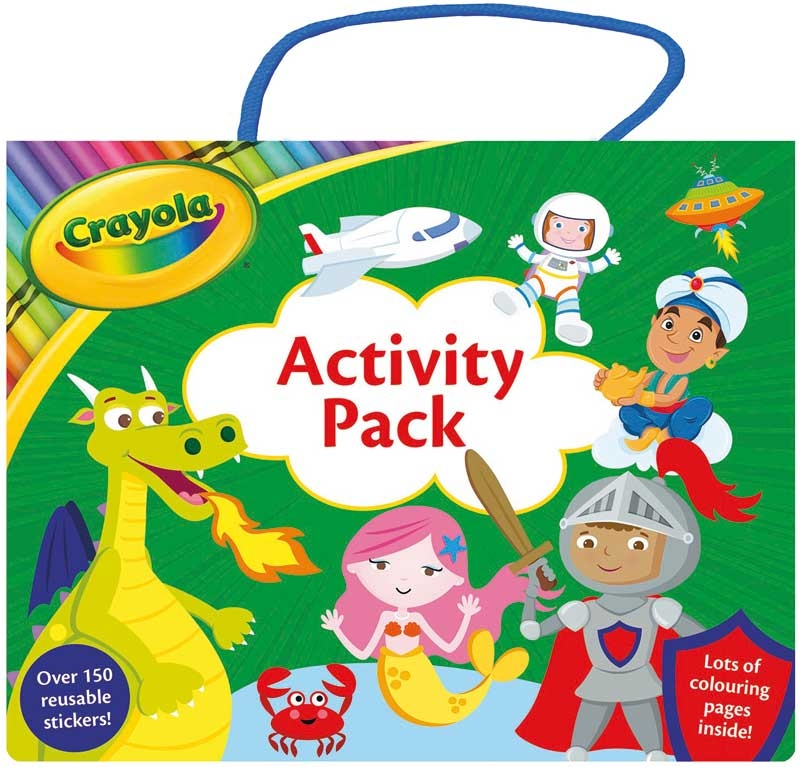 Wholesalers of Crayola Shimmer Activity Pack toys