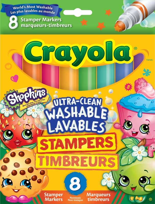 Wholesalers of Crayola Shopkins Stampers toys