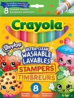 Wholesalers of Crayola Shopkins Stampers toys image