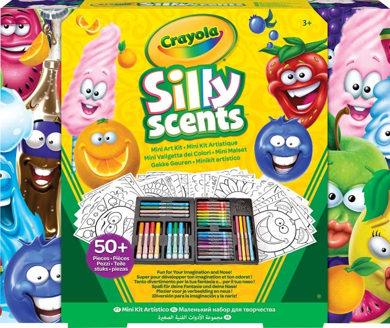 Wholesalers of Crayola Silly Scents Mini Art Kit Refresh - Now With Stinky  toys