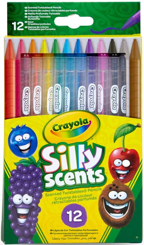 Wholesalers of Crayola Silly Scents Twistables Pencils 12 toys