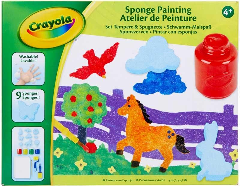 Wholesalers of Crayola Sponge Painting toys