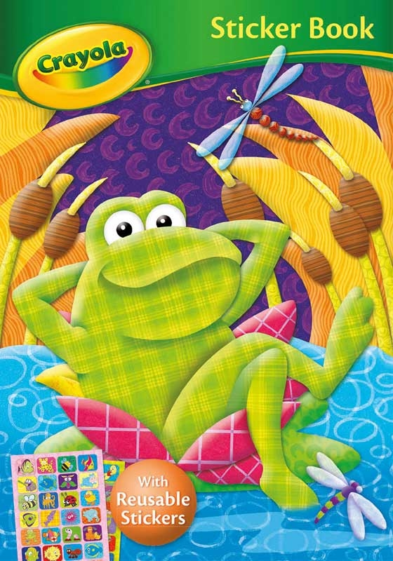 Wholesalers of Crayola Sticker Book Frog toys