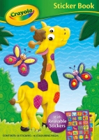 Wholesalers of Crayola Sticker Book Giraffe toys image