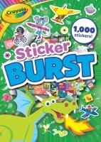 Wholesalers of Crayola Sticker Burst Green toys image