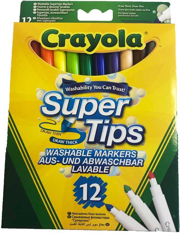 Wholesalers of Crayola Supertips toys