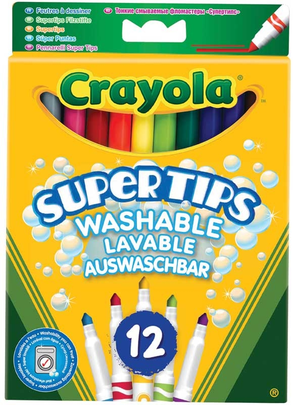 Wholesalers of Crayola Supertips toys