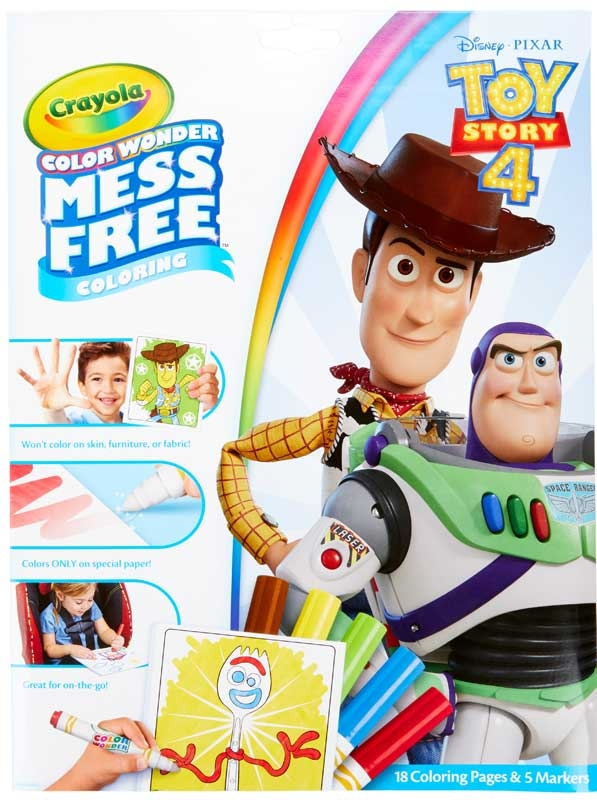 Wholesalers of Crayola Toy Story 4 Color Wonder toys