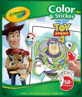 Wholesalers of Crayola Toy Story 4 Colouring Pages With Stickers toys Tmb