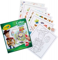 Wholesalers of Crayola Toy Story 4 Colouring Pages With Stickers toys image 2