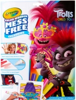 Wholesalers of Crayola Trolls 2 Colour Wonder toys image