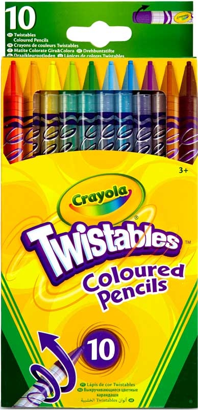Wholesalers of Crayola Twistable Coloured Pencils toys