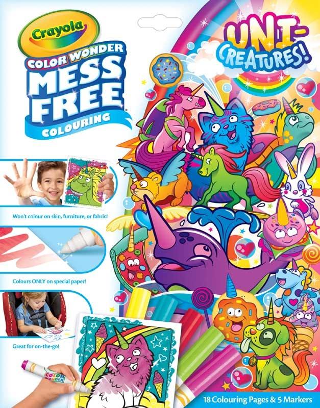 Wholesalers of Crayola Unicreatures Color Wonder toys