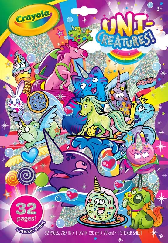 Wholesalers of Crayola Unicreatures Colouring Book toys