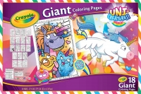 Wholesalers of Crayola Unicreatures Giant Colouring Pages toys image