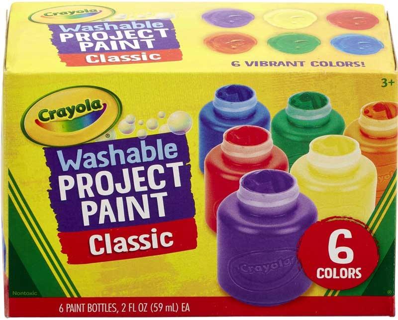 Wholesalers of Crayola Washable Kids Paint Set toys