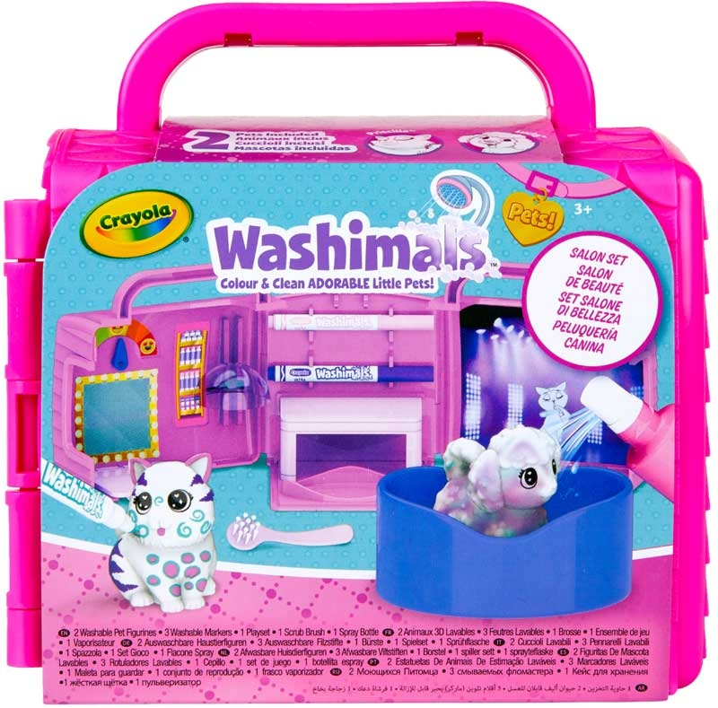 Wholesalers of Crayola Washimals Beauty Salon Playset toys