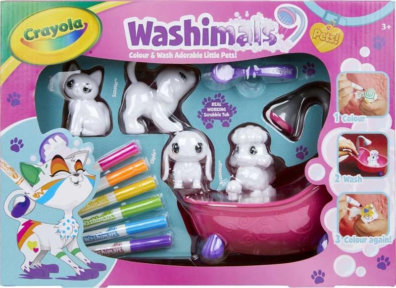 Wholesalers of Crayola Washimals Playset toys
