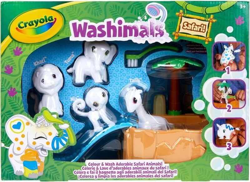 Wholesalers of Crayola Washimals Safari Playset toys