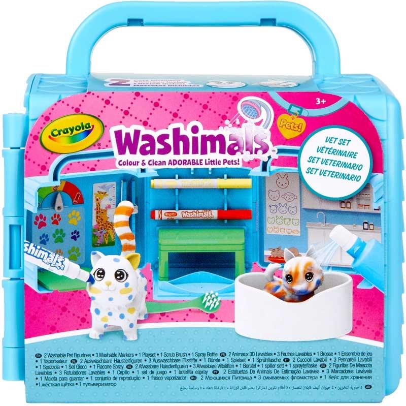 Wholesalers of Crayola Washimals Vet Clinic Playset toys
