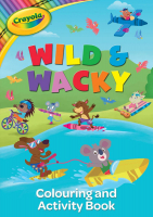 Wholesalers of Crayola Wild And Wacky Colour And Activity Book toys image