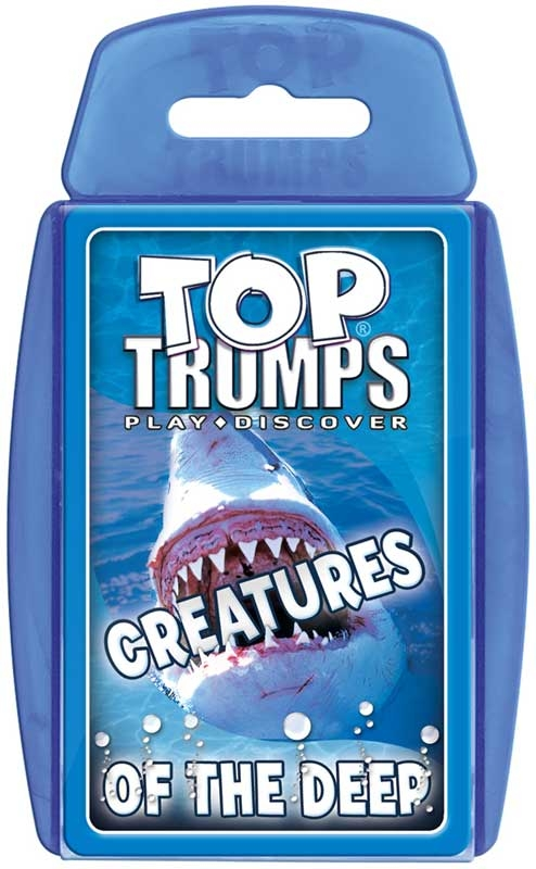 Wholesalers of Top Trumps - Creatures Of The Deep toys