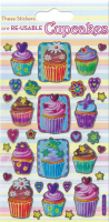 Wholesalers of Cupcakes Sparkle Stickers toys image