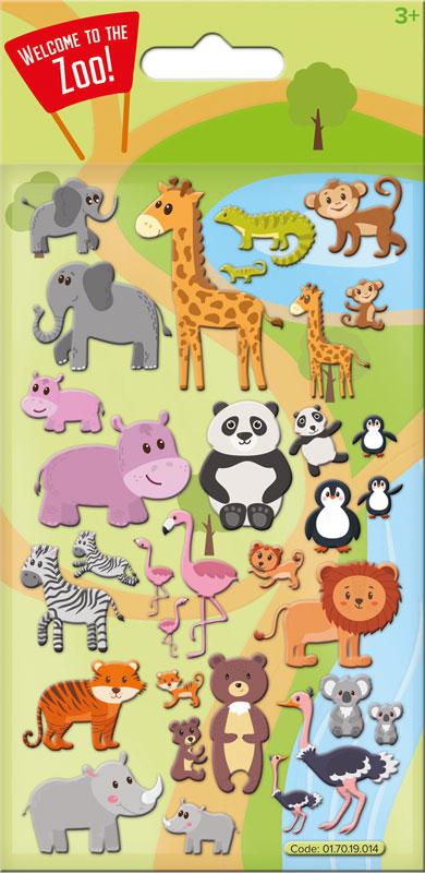 Wholesalers of Cute Zoo Kidscraft - Foam Stickers toys