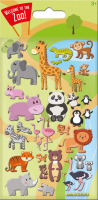 Wholesalers of Cute Zoo Kidscraft - Foam Stickers toys image