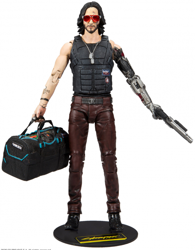 Wholesalers of Cyberpunk W1 7 Inch Fig - Johnny Exclu toys