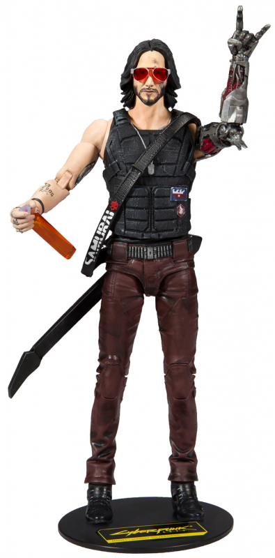Wholesalers of Cyberpunk W1 7 Inch Figures - Johnny toys