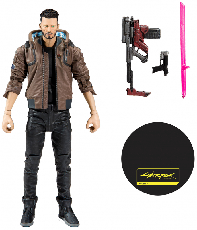 Wholesalers of Cyberpunk W1 7 Inch Figures - V Male toys