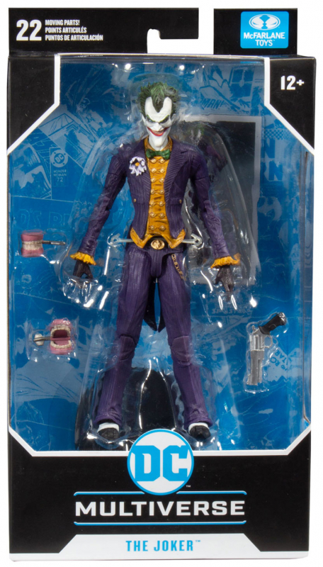 Wholesalers of Dc 7 Inch Arkham Asylum Joker W1 toys